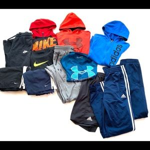 Athletic Boys Clothing Lot of 12 Items